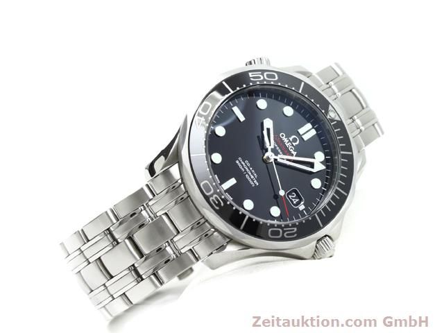 Used luxury watch Omega Seamaster steel automatic Kal. 2500 Ref. 21230412001003  | 140040 03