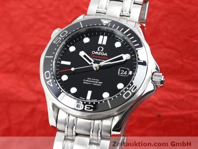 Used luxury watch Omega Seamaster steel automatic Kal. 2500 Ref. 21230412001003  | 140040 04