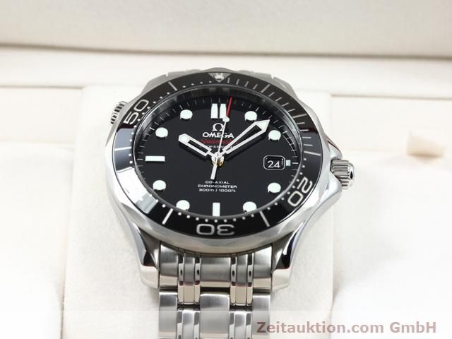 Used luxury watch Omega Seamaster steel automatic Kal. 2500 Ref. 21230412001003  | 140040 07