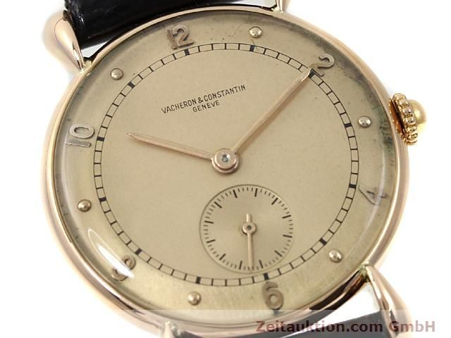 Used luxury watch Vacheron & Constantin * 18 ct red gold manual winding Kal. 203  | 140041 02