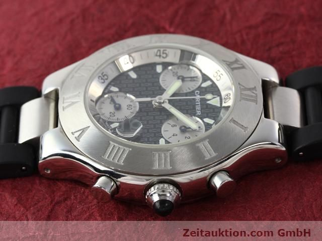 Used luxury watch Cartier Chronoscaph 21 steel quartz Kal. 272 (ETA 251272) Ref. 2424  | 140042 05