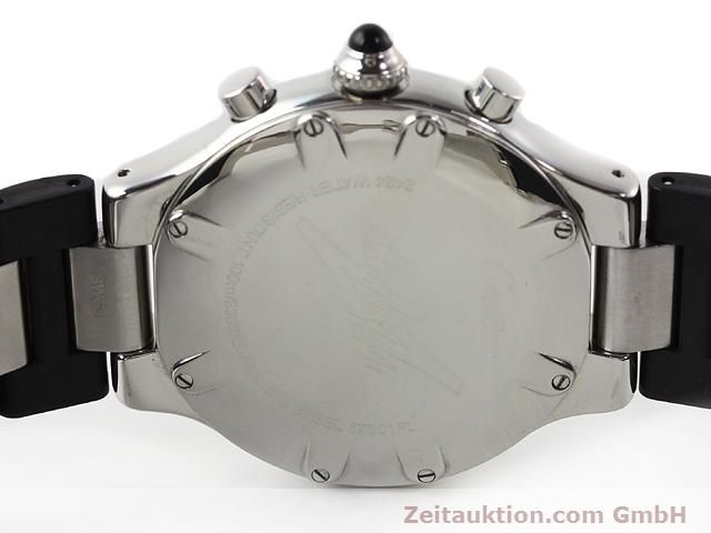 Used luxury watch Cartier Chronoscaph 21 steel quartz Kal. 272 (ETA 251272) Ref. 2424  | 140042 09