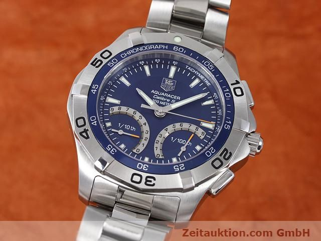 Used luxury watch Tag Heuer Aquaracer steel quartz Kal. S Ref. CAF7012  | 140045 04