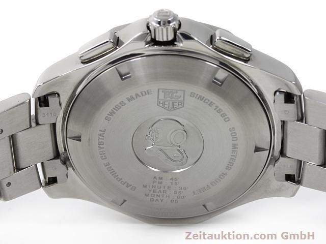 Used luxury watch Tag Heuer Aquaracer steel quartz Kal. S Ref. CAF7012  | 140045 09