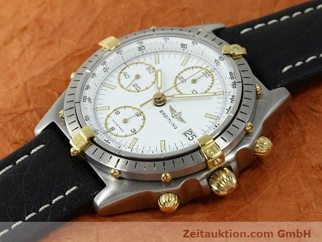 Used luxury watch Breitling Chronomat gilt steel automatic Kal. VAL 7750 Ref. 81950  | 140046 01