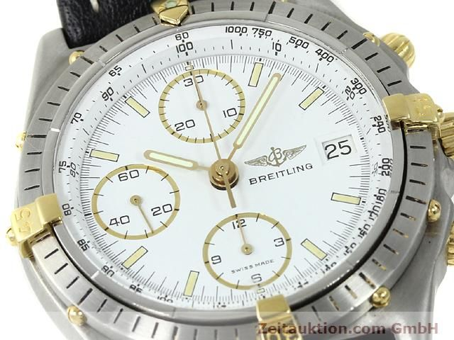 Used luxury watch Breitling Chronomat gilt steel automatic Kal. VAL 7750 Ref. 81950  | 140046 02