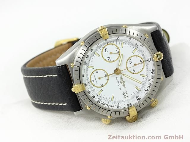 Used luxury watch Breitling Chronomat gilt steel automatic Kal. VAL 7750 Ref. 81950  | 140046 03