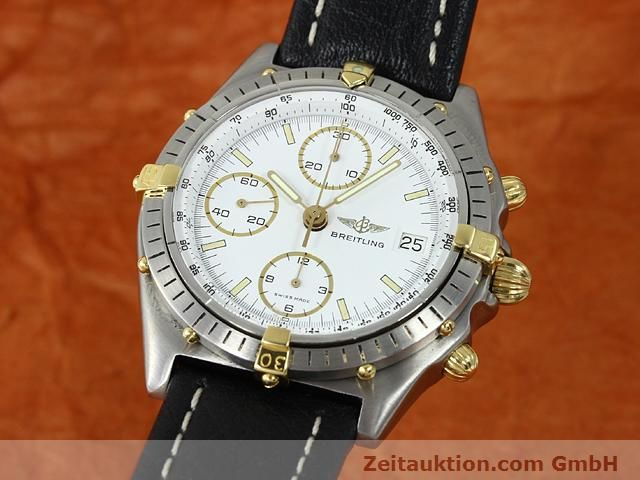 Used luxury watch Breitling Chronomat gilt steel automatic Kal. VAL 7750 Ref. 81950  | 140046 04