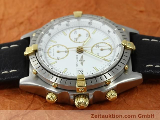 Used luxury watch Breitling Chronomat gilt steel automatic Kal. VAL 7750 Ref. 81950  | 140046 05
