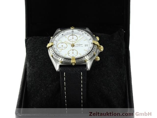 Used luxury watch Breitling Chronomat gilt steel automatic Kal. VAL 7750 Ref. 81950  | 140046 07