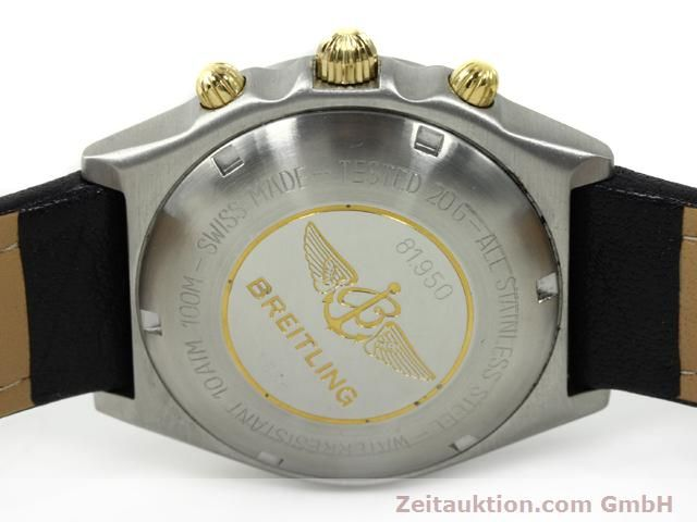 Used luxury watch Breitling Chronomat gilt steel automatic Kal. VAL 7750 Ref. 81950  | 140046 09