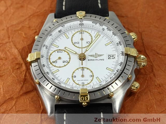 Used luxury watch Breitling Chronomat gilt steel automatic Kal. VAL 7750 Ref. 81950  | 140046 12