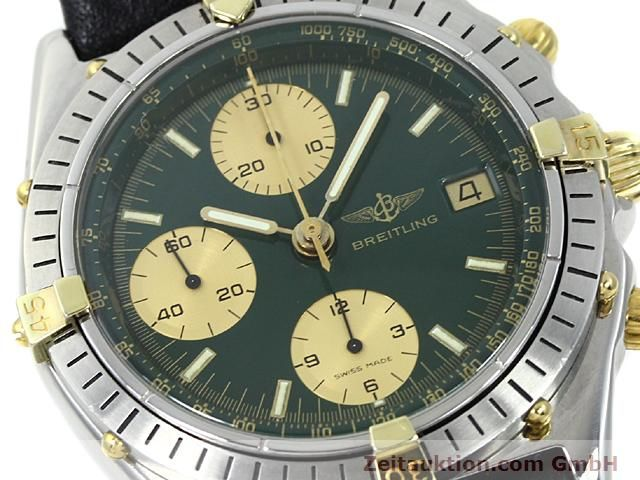 Used luxury watch Breitling Windrider gilt steel automatic Kal. VAL 7750 Ref. 81950  | 140047 02