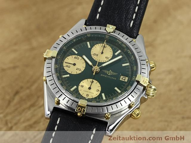 Used luxury watch Breitling Windrider gilt steel automatic Kal. VAL 7750 Ref. 81950  | 140047 04