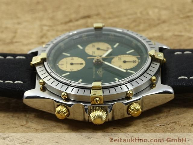 Used luxury watch Breitling Windrider gilt steel automatic Kal. VAL 7750 Ref. 81950  | 140047 05