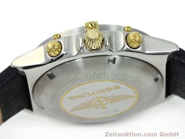 Used luxury watch Breitling Windrider gilt steel automatic Kal. VAL 7750 Ref. 81950  | 140047 08