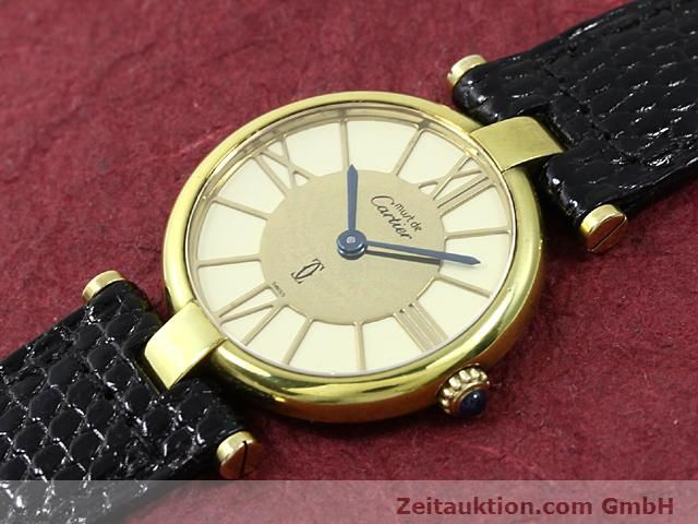 Used luxury watch Cartier Vermeil silver-gilt quartz Kal. 81  | 140050 01