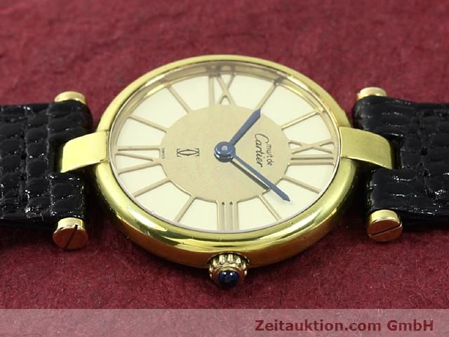 Used luxury watch Cartier Vermeil silver-gilt quartz Kal. 81  | 140050 05