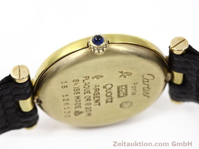 Used luxury watch Cartier Vermeil silver-gilt quartz Kal. 81  | 140050 08