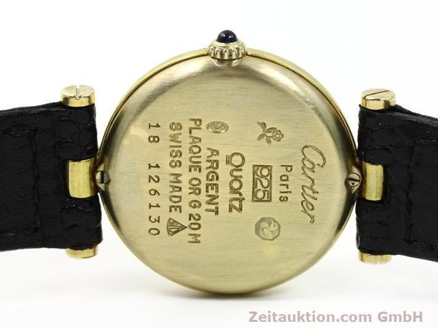 Used luxury watch Cartier Vermeil silver-gilt quartz Kal. 81  | 140050 09