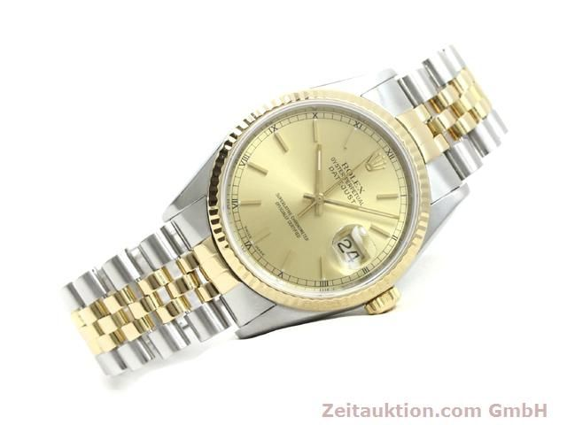 montre de luxe d occasion Rolex Datejust acier / or  automatique Kal. 3135 Ref. 16233  | 140052 03