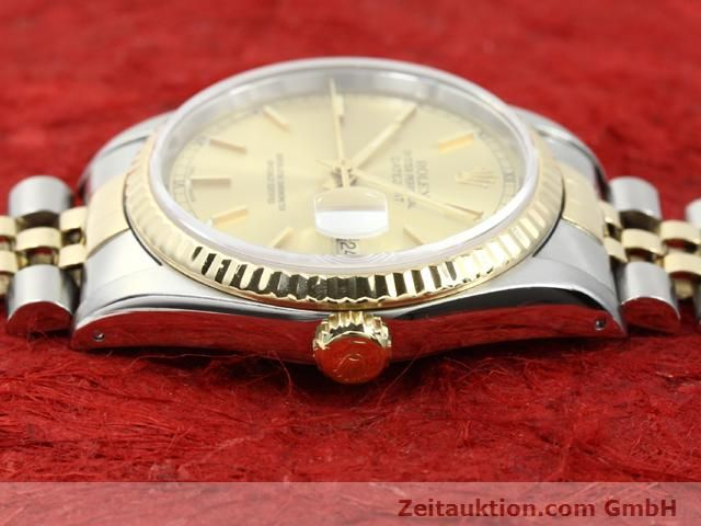 montre de luxe d occasion Rolex Datejust acier / or  automatique Kal. 3135 Ref. 16233  | 140052 05