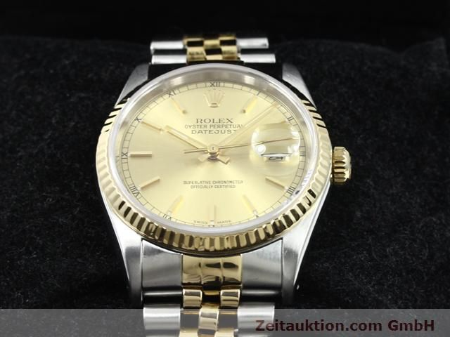 montre de luxe d occasion Rolex Datejust acier / or  automatique Kal. 3135 Ref. 16233  | 140052 07