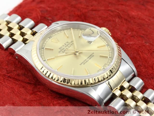 montre de luxe d occasion Rolex Datejust acier / or  automatique Kal. 3135 Ref. 16233  | 140052 14