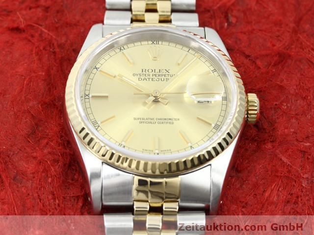 montre de luxe d occasion Rolex Datejust acier / or  automatique Kal. 3135 Ref. 16233  | 140052 15