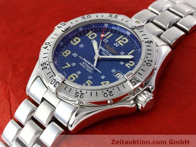 Used luxury watch Breitling Superocean steel automatic Kal. ETA 2824-2 Ref. A17040  | 140056 01