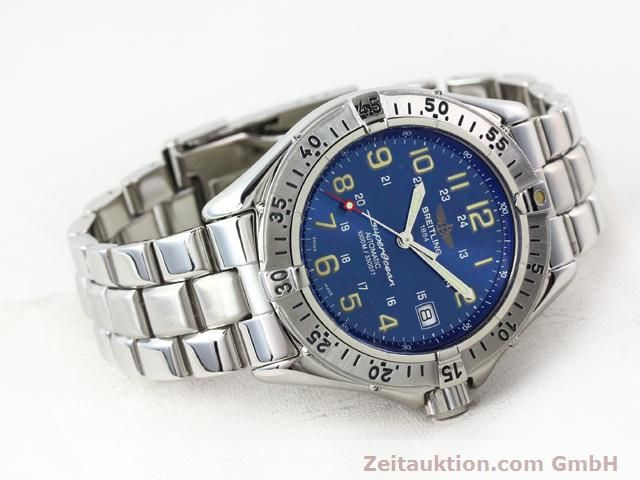 Used luxury watch Breitling Superocean steel automatic Kal. ETA 2824-2 Ref. A17040  | 140056 03