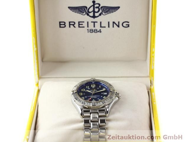 Used luxury watch Breitling Superocean steel automatic Kal. ETA 2824-2 Ref. A17040  | 140056 07