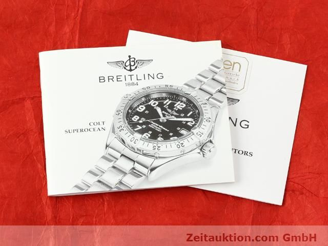 Used luxury watch Breitling Superocean steel automatic Kal. ETA 2824-2 Ref. A17040  | 140056 13