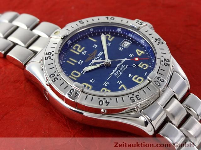 Used luxury watch Breitling Superocean steel automatic Kal. ETA 2824-2 Ref. A17040  | 140056 15
