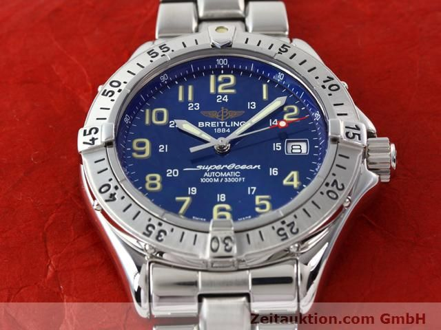 Used luxury watch Breitling Superocean steel automatic Kal. ETA 2824-2 Ref. A17040  | 140056 16