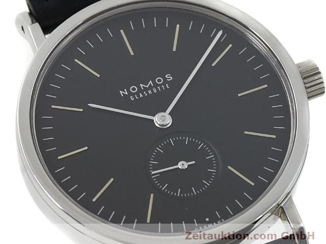Used luxury watch Nomos Tangente steel manual winding Kal. Alpha 15398  | 140057 02
