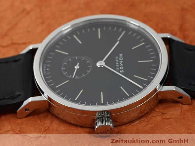 Used luxury watch Nomos Tangente steel manual winding Kal. Alpha 15398  | 140057 05