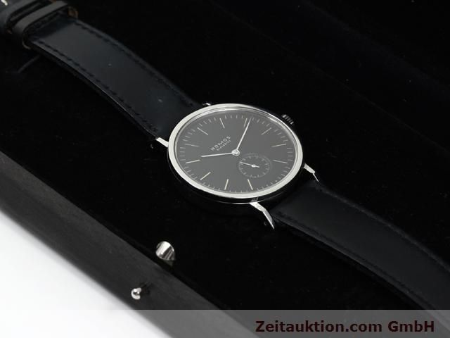 Used luxury watch Nomos Tangente steel manual winding Kal. Alpha 15398  | 140057 07