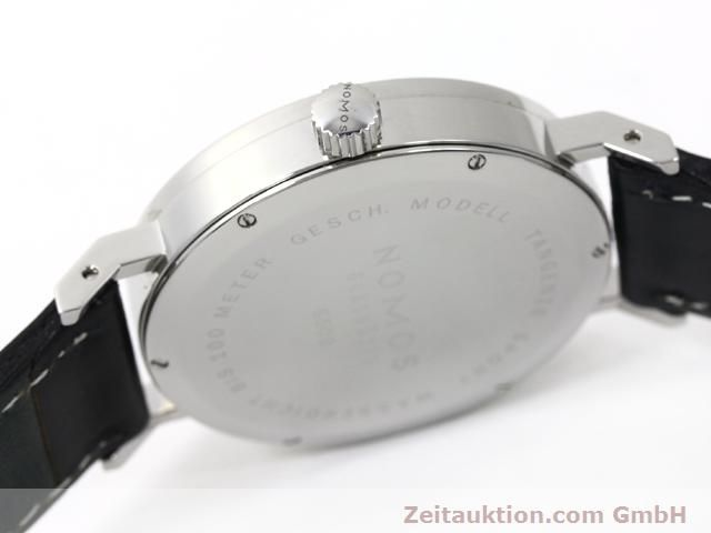 Used luxury watch Nomos Tangente steel manual winding Kal. Alpha 15398  | 140057 08