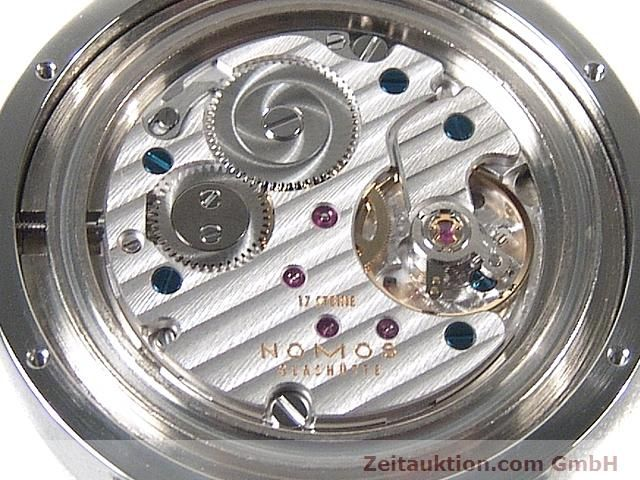 Used luxury watch Nomos Tangente steel manual winding Kal. Alpha 15398  | 140057 10