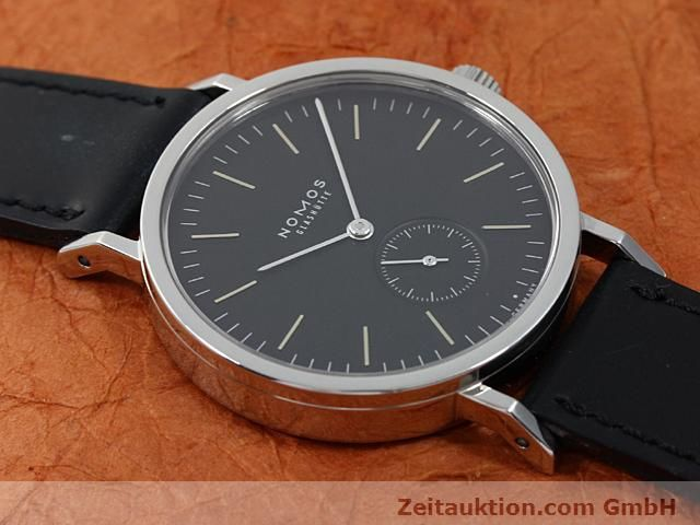 Used luxury watch Nomos Tangente steel manual winding Kal. Alpha 15398  | 140057 13