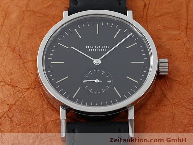 Used luxury watch Nomos Tangente steel manual winding Kal. Alpha 15398  | 140057 14