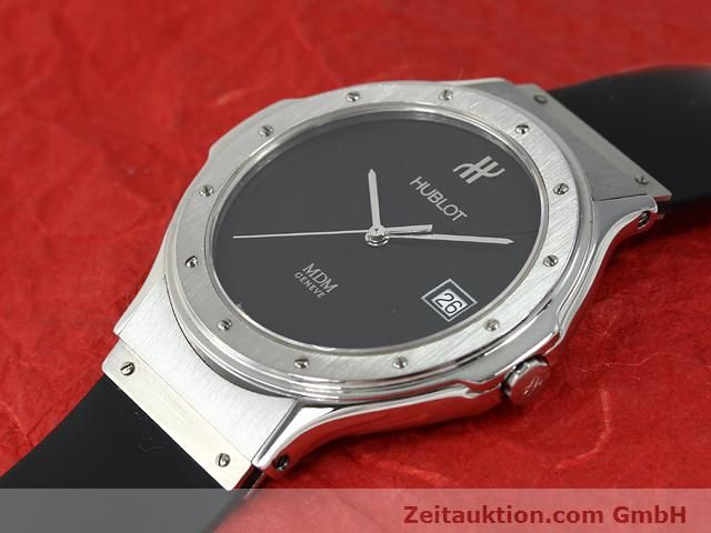 Used luxury watch Hublot MDM steel quartz Kal. ETA 955412 Ref. S152.10.1  | 140063 01