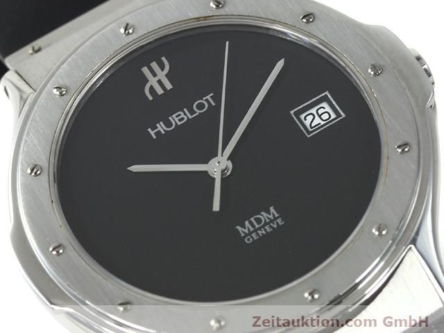 Used luxury watch Hublot MDM steel quartz Kal. ETA 955412 Ref. S152.10.1  | 140063 02