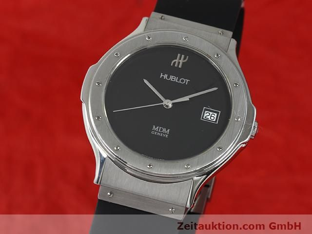 Used luxury watch Hublot MDM steel quartz Kal. ETA 955412 Ref. S152.10.1  | 140063 04