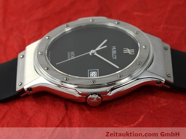 Used luxury watch Hublot MDM steel quartz Kal. ETA 955412 Ref. S152.10.1  | 140063 05