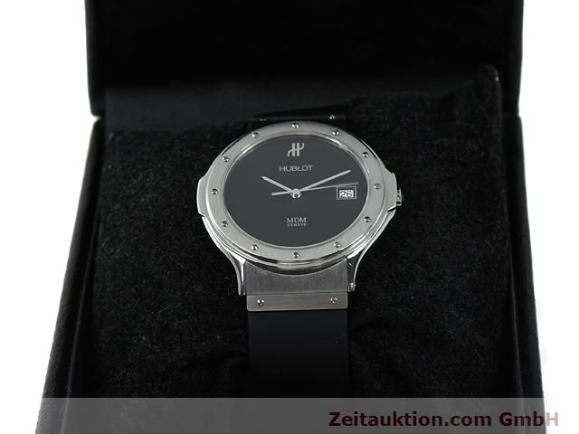 Used luxury watch Hublot MDM steel quartz Kal. ETA 955412 Ref. S152.10.1  | 140063 07