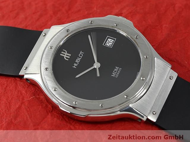 Used luxury watch Hublot MDM steel quartz Kal. ETA 955412 Ref. S152.10.1  | 140063 12