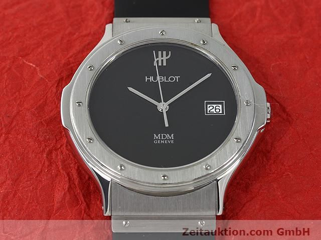 Used luxury watch Hublot MDM steel quartz Kal. ETA 955412 Ref. S152.10.1  | 140063 13