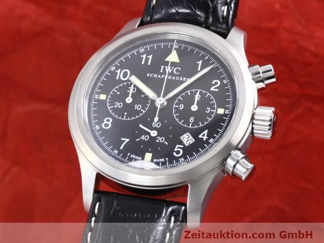 Used luxury watch IWC Fliegerchronograph steel quartz Kal. 630 Ref. 3741  | 140069 04